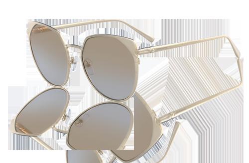 Zonnebril Lichte Glazen : Longchamps zonnebrillencollectie: karakteristieke elegantie